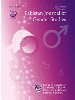 Pakistan Journal of Gender Studies